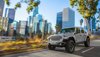 Jeep Wrangler 4xe 2021: l'iconico fuoristrada diventa elettrico