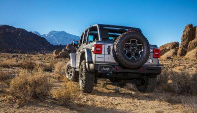 Jeep Wrangler 4xe 2021: la plug-in hybrid da 380 CV debutta in Europa