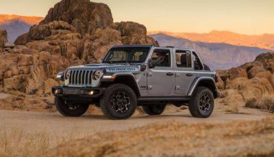 Jeep Wrangler 4xe 2021: la First Edition in Italia da 73.100 Euro