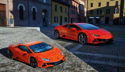 La Lamborghini Huracan EVO diventa un puzzle 3D della Ravensburger