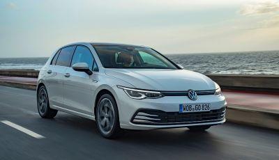 Volkswagen Golf 8: arriva la versione TGI a metano da 130 cavalli