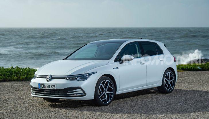 Volkswagen Golf 8 TDI metano 2020