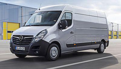Opel Movano: nel 2021 arrivano il Movano e il Combo elettrici
