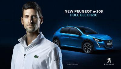 Peugeot e Novak Djokovic insieme per il Roland-Garros 2020