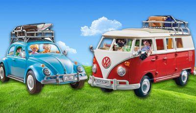 Playmobil svela i nuovi Volkwagen Bulli e Maggiolino