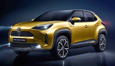 Toyota Yaris Cross 2021: prezzo per l'Italia e l'Europa