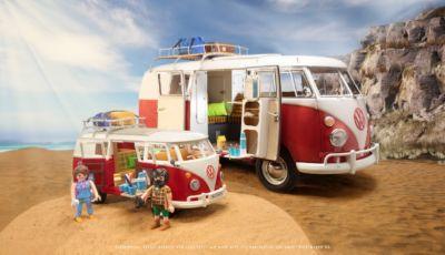 Volkswagen Bulli: disponibile la riproduzione 1:18 by Playmobil