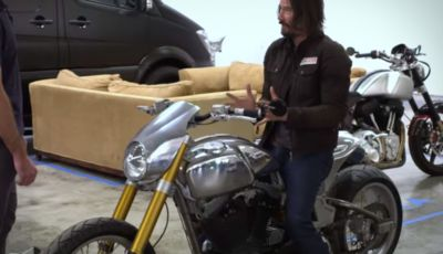 L'ARCH Motorcycle di Keanu Reeves protagonista del videgame Cyberpunk 2077