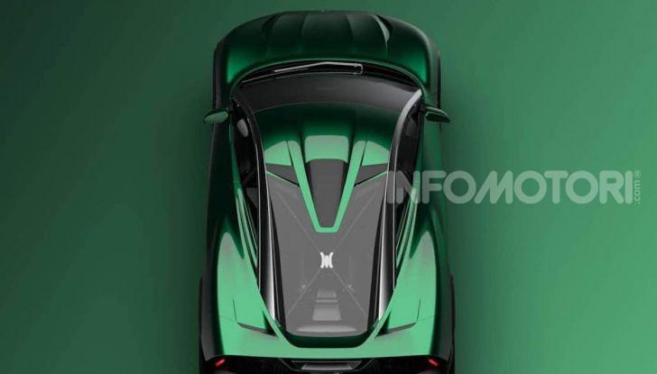 SUV  Mclaren, il primo rendering - Foto 1 di 6