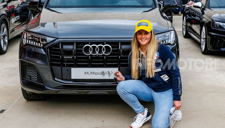 Audi Q7 hybrid plug-in atleti FISI