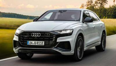 Audi Q8 TFSI E Quattro: il SUV tedesco arriva a gennaio 2021 da 83.650 Euro