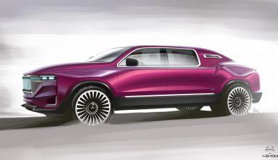 Aznom Palladium: la hyper-limousine a trazione integrale creata a Monza
