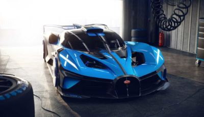 Bugatti Bolide: l'hypercar da 1.850 cavalli che sfida la Formula 1