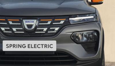 """Dacia Spring: l'elettrica """"low cost"""" debutta ufficialmente"""