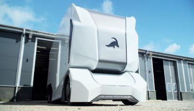 Einride Pod: il camion elettrico svedese pilotato da remoto