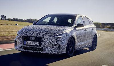 Hyundai i20 N 2021: la nuova sportiva coreana avvistata al Nürburgring