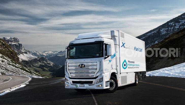Hyundai Xcient Full Cell camion