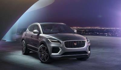 Jaguar E-Pace 2021: il restyling porta l'ibrido, anche alla spina