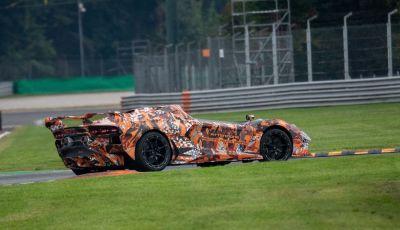 Lamborghini SC20: la Squadra Corse testa l'erede della Aventador J