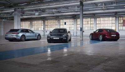 Porsche Panamera: al debutto le nuove Turbo S e Panamera 4 E-Hybrid