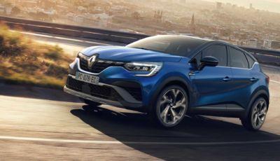 Renault Captur E-Tech Hybrid: il SUV compatto diventa full hybrid nel 2021