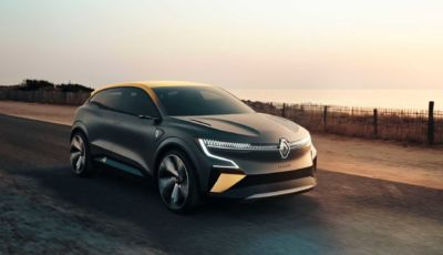 Renault Megane eVision: la compatta francese full electric arriva nel 2021