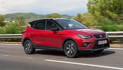 Seat Arona 2021: il SUV compatto si aggiorna con l'1.5 TSI da 150 cavalli
