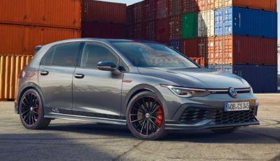 Volkswagen Golf: disponibile in Italia la GTI e la Clubsport 45 in serie limitata