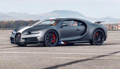 Bugatti Chiron Sport Les Légendes du Ciel, omaggio agli eroi dell'aviazione