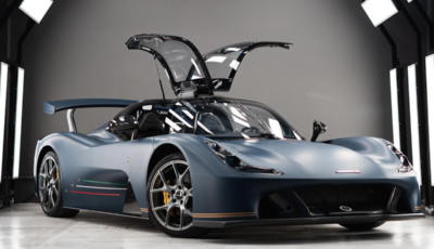 Dallara Stradale PAN LX Anniversary, progetto by Garage Italia