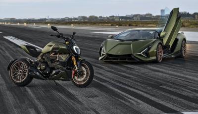 Ducati Diavel 1260 Lamborghini: dati tecnici e foto