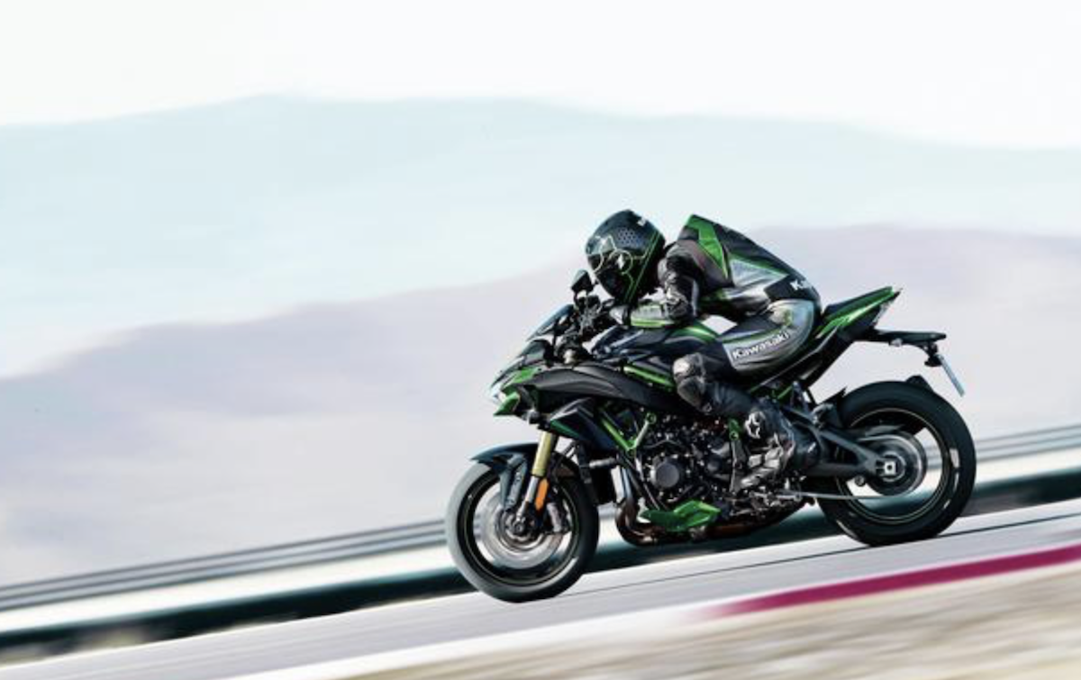 Foto Kawasaki Z H2 SE 2021: la super naked è più elettronica
