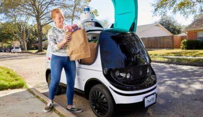 Nuro R2: il mini van a guida autonoma per le consegne a domicilio