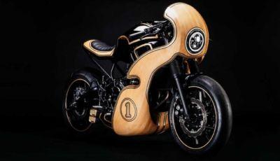 George Woodman firma la prima Yamaha XSR 700 in legno
