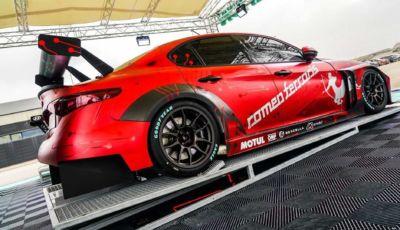 Alfa Romeo Giulia elettrica di Romeo Ferraris è pronta per l'ETCR
