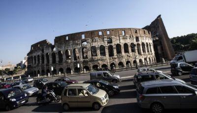 Roma domenica ecologica 15 novembre, Fascia Verde interdetta alle auto