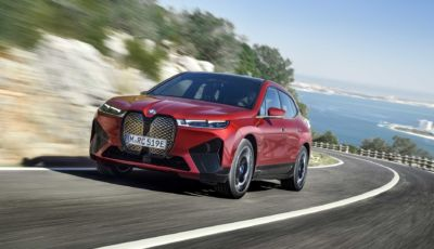 BMW iX: l'erede della Vision iNext avrà 500 CV e 600 km di autonomia