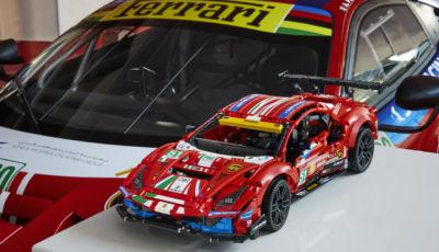 Lego Technic Ferrari 488 GTE AF Corse #51 disponibile da gennaio