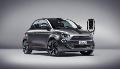 Fiat 500 Elettrica: ancora più elegante e sportiva con gli accessori Mopar