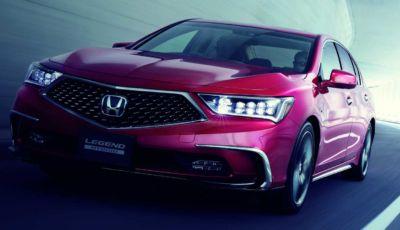 Honda Legend: la prima auto commerciale con guida autonoma di Livello 3