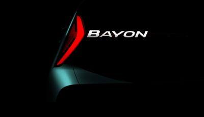 Hyundai Bayon: il nuovo B-SUV debutta nel 2021