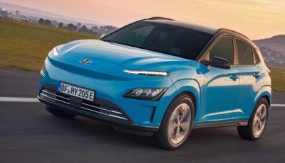 Hyundai Kona Electric 2021: look rinnovato e ancora più tecnologia