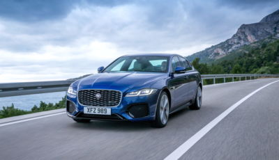 Jaguar XF 2021: il restyling porta la tecnologia mild hybrid