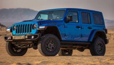 Jeep Wrangler Rubicon 392: con il V8 da 470 CV diventa la più potente di sempre