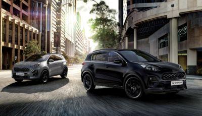 Kia Sportage: la versione speciale Black Edition parte da 32.250 Euro