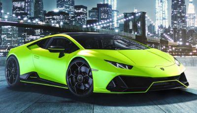 Lamborghini Huracan EVO: ancora più bella con le colorazioni Fluo Capsule