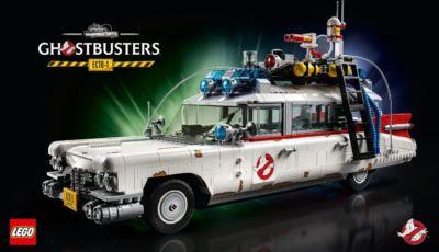 Lego Ecto-1 Ghostbusters del 1984, nuovo set da 2.352 pezzi