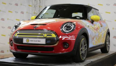"""Mini Cooper SE: la full electric in versione """"Flash"""" al Lucca Changes 2020"""