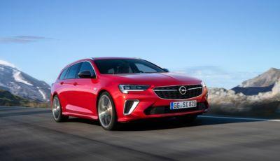 Opel Insignia 2021: la seconda generazione con motori più puliti