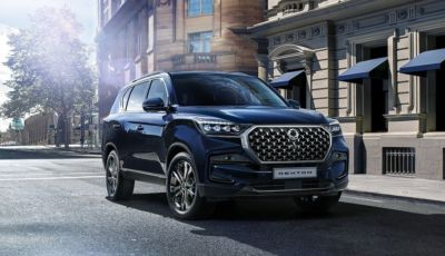 SsangYong Rexton 2021: il SUV coreano si rinnova nel look e negli interni